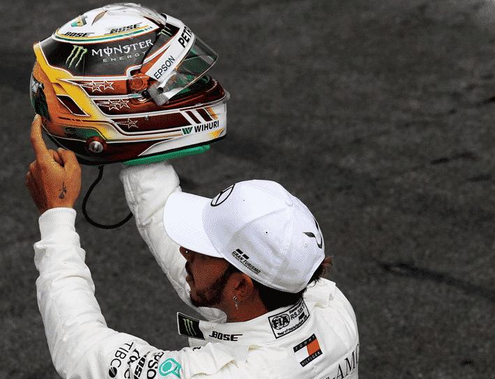 Hamilton consigue la Pole del GP de Brasil 2018