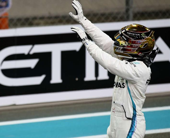 GP de Abu Dabi 2018 - Calificación: Hamilton no perdona ni la última del año