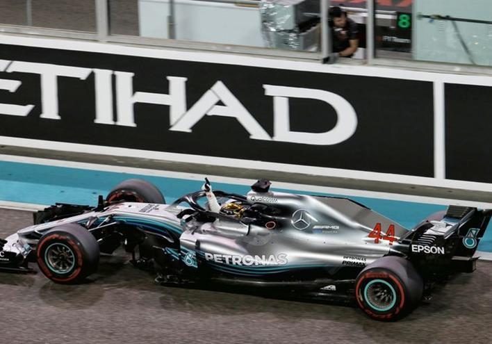 Hamilton consigue la victoria del GP de Abu Dabi 2018