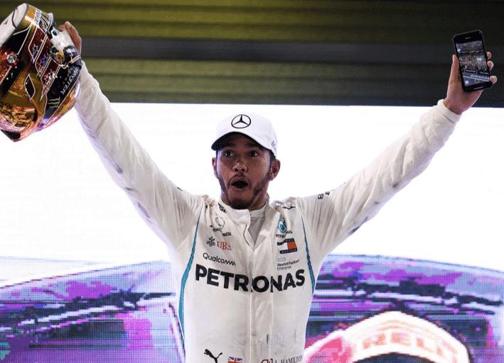 Hamilton logra el triunfo. GP Abu Dabi 2018
