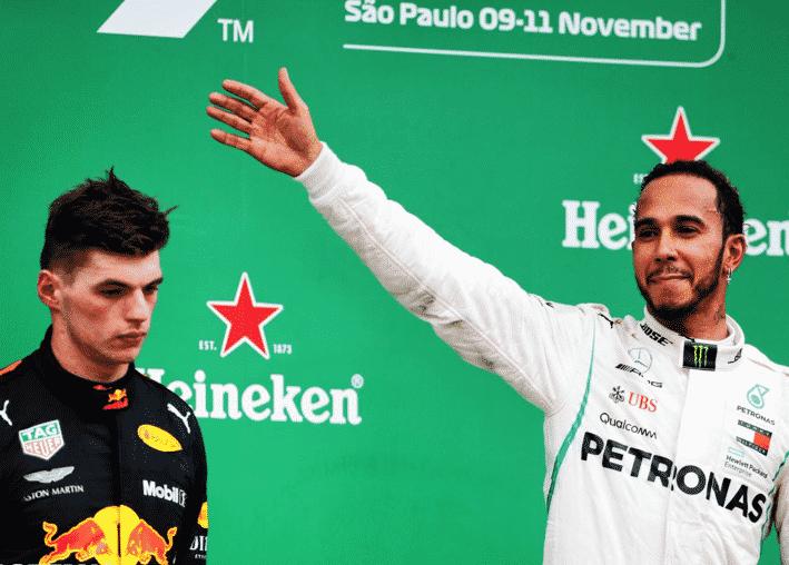 Hamilton logra el triunfo. GP Brasil 2018