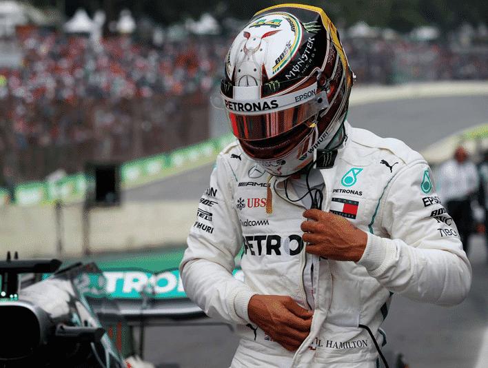 Hamilton logra la Pole del GP de Brasil 2018