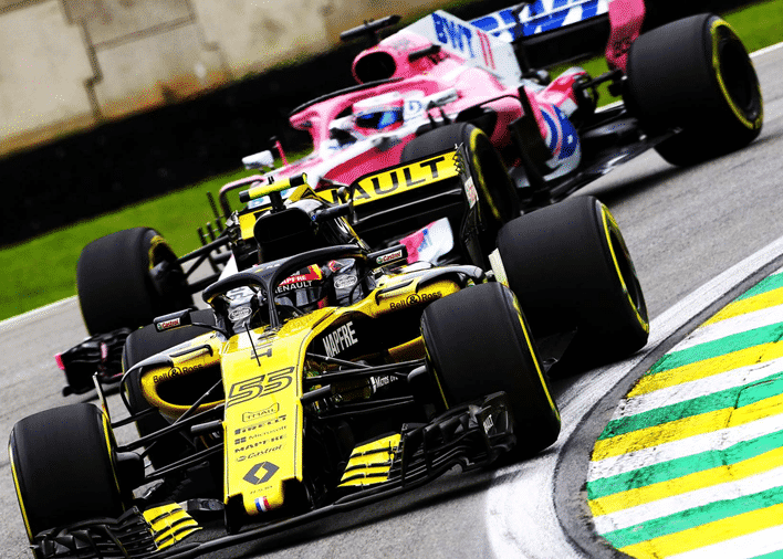 Sainz. Calificación GP de Brasil 2018