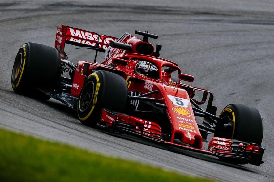 GP de Brasil 2018-Libres 3: Vettel bate el récord de Interlagos
