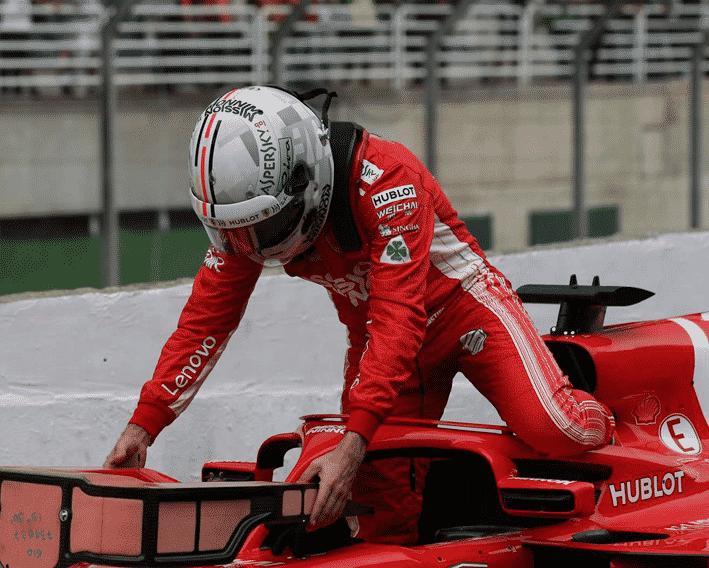 Vettel. Calificación GP de Brasil 2018