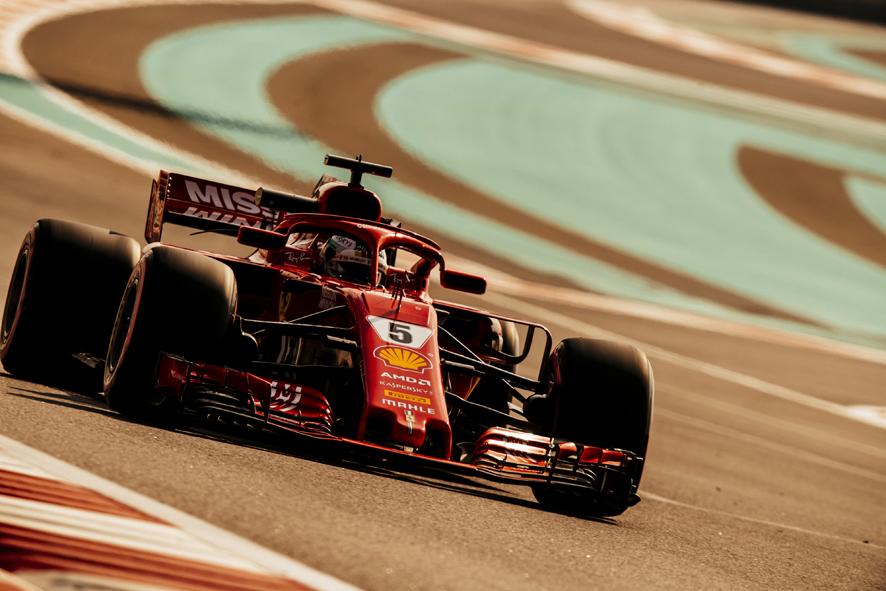 Vettel el más rápido en los test de Abu Dabi