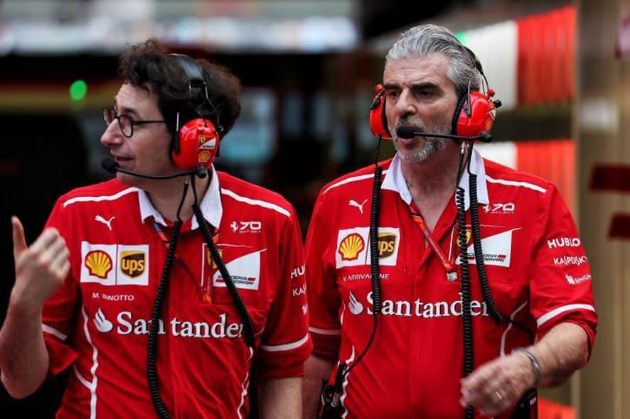 Binotto sustituye a Arrivabene al mando de Ferrari
