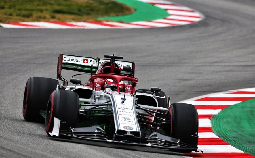 Kimi Raikkonen el más rápido con Alfa Romeo