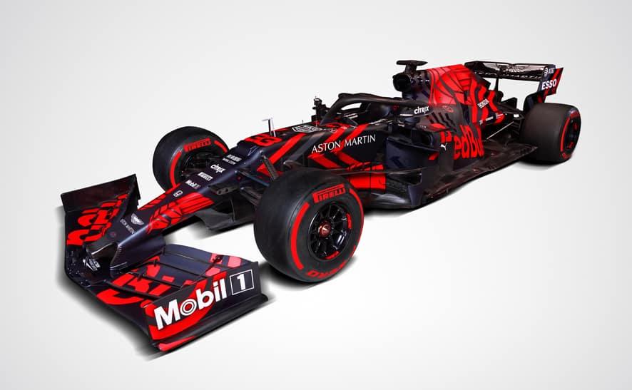 Red Bull estrena el RB15 propulsado por Honda