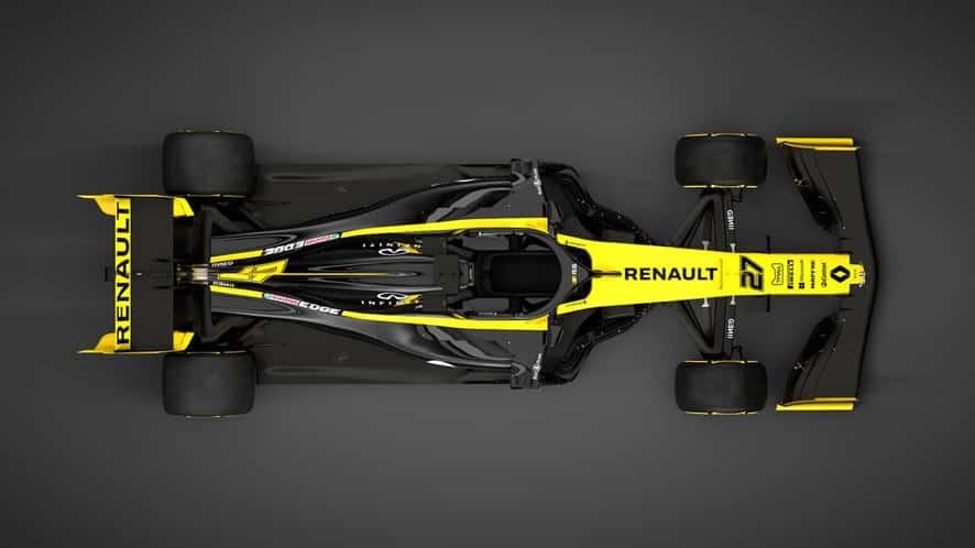 Renault desvela el R.S.19 de Ricciardo y Hülkenberg