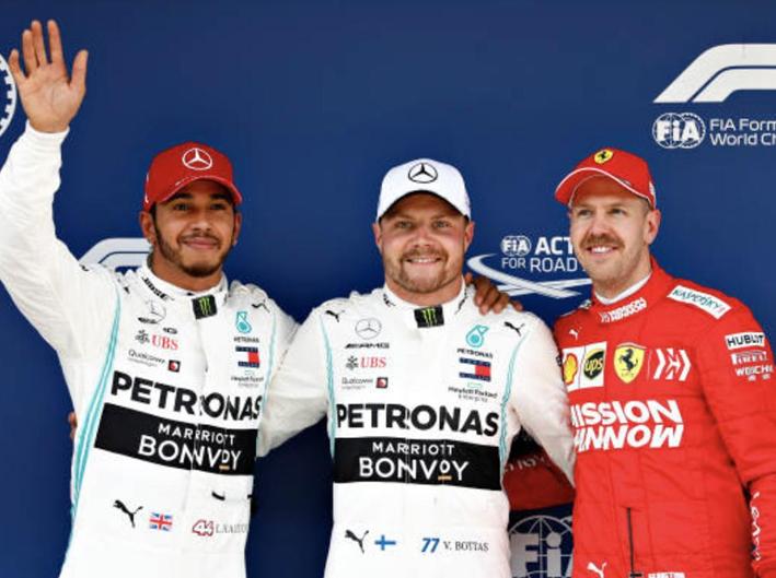 Bottas consigue la Pole. Calificación GP China 2019