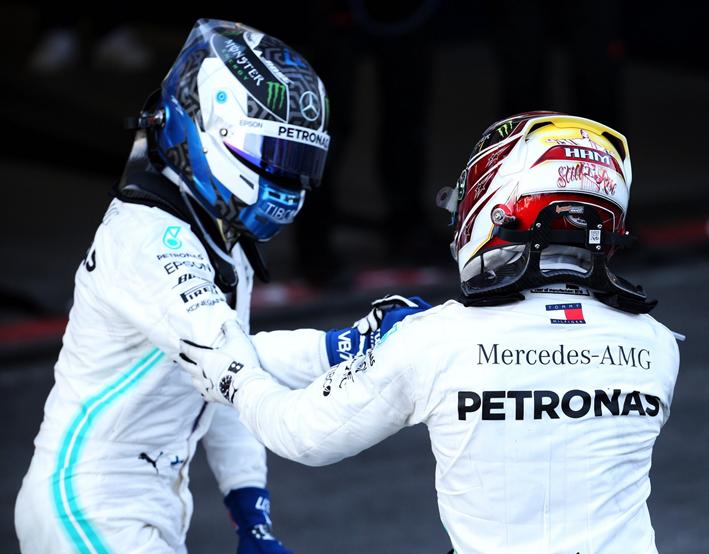 Bottas consigue la victoria. GP Azerbaiyán 2019
