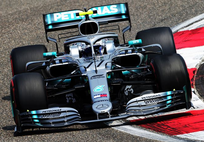 Bottas. Calificación GP China 2019