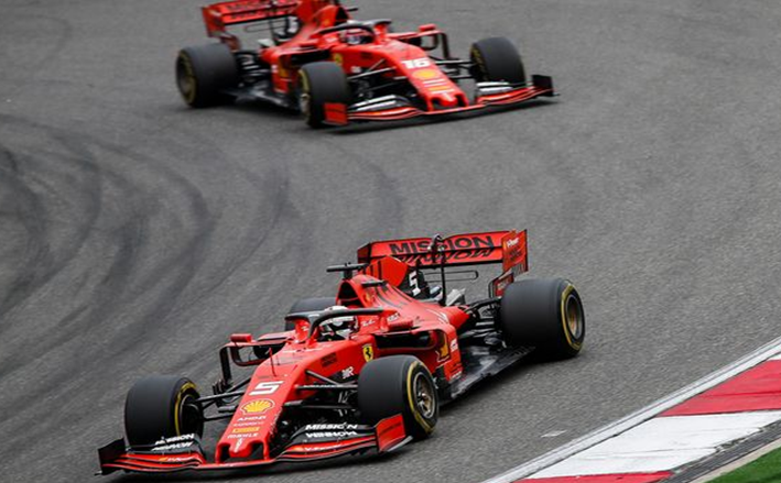 Ferrari. GP China 2019