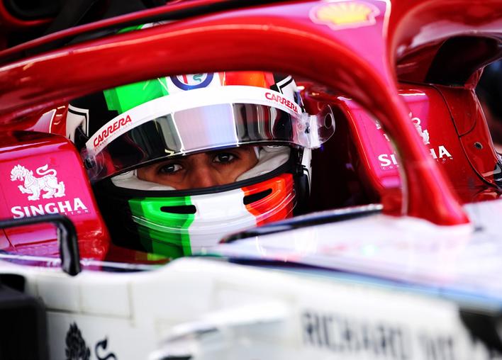 Giovinazzi. Calificación GP China 2019