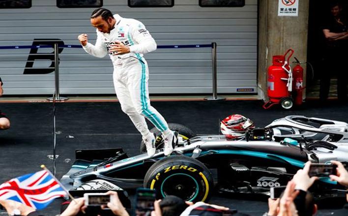 Hamilton. GP China 2019