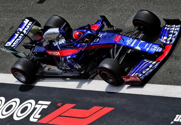 Kvyat. Calificación GP China 2019