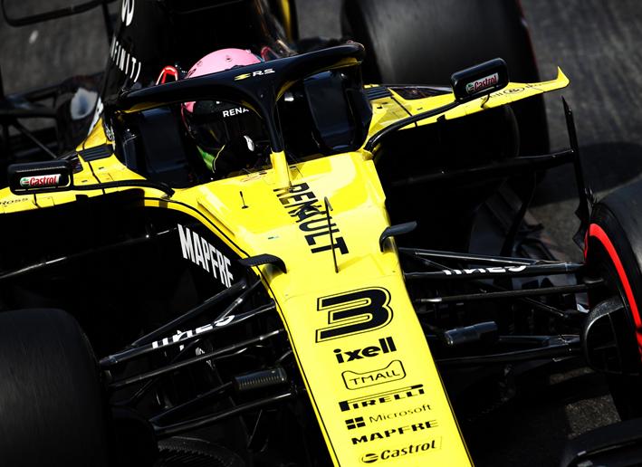 Daniel Ricciardo. Calificación GP Mónaco 2019
