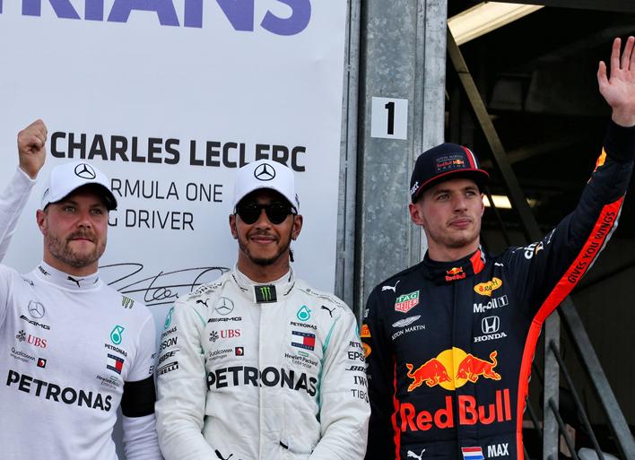 Hamilton consigue la Pole. Calificación GP Mónaco 2019