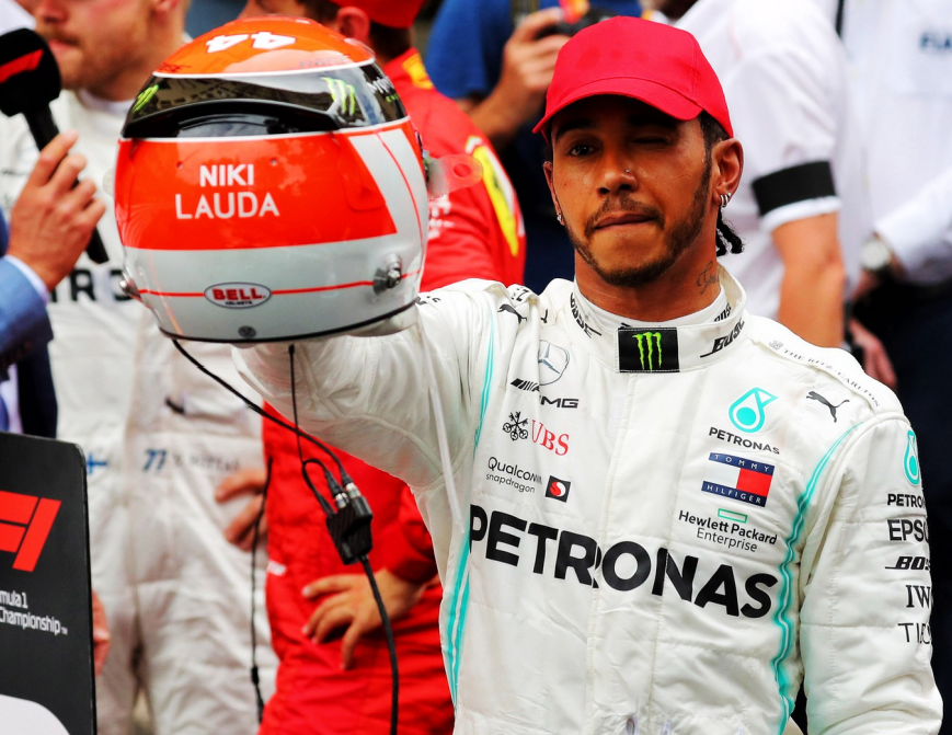 Hamilton logra vencer la carrera. GP Mónaco 2019