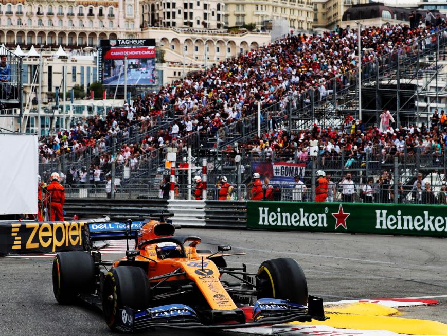 Sainz. GP Mónaco 2019