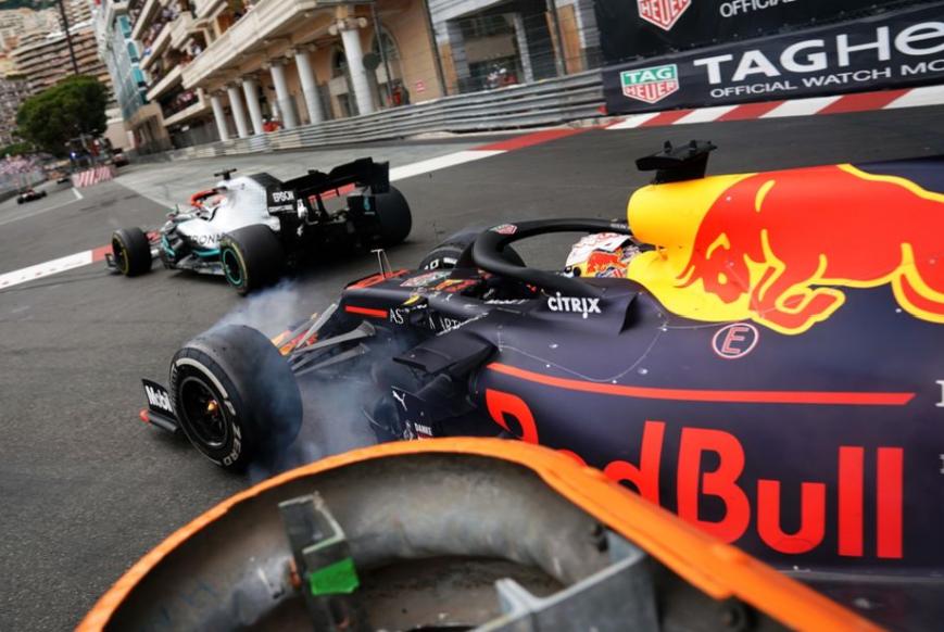 Verstappen. GP Mónaco 2019