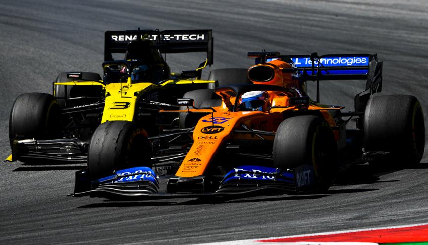 Carlos Sainz. GP Austria 2019