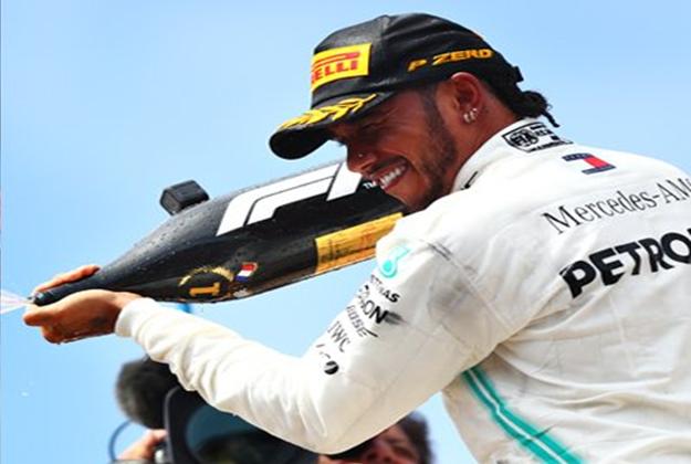 Hamilton consigue la victoria. GP Francia 2019