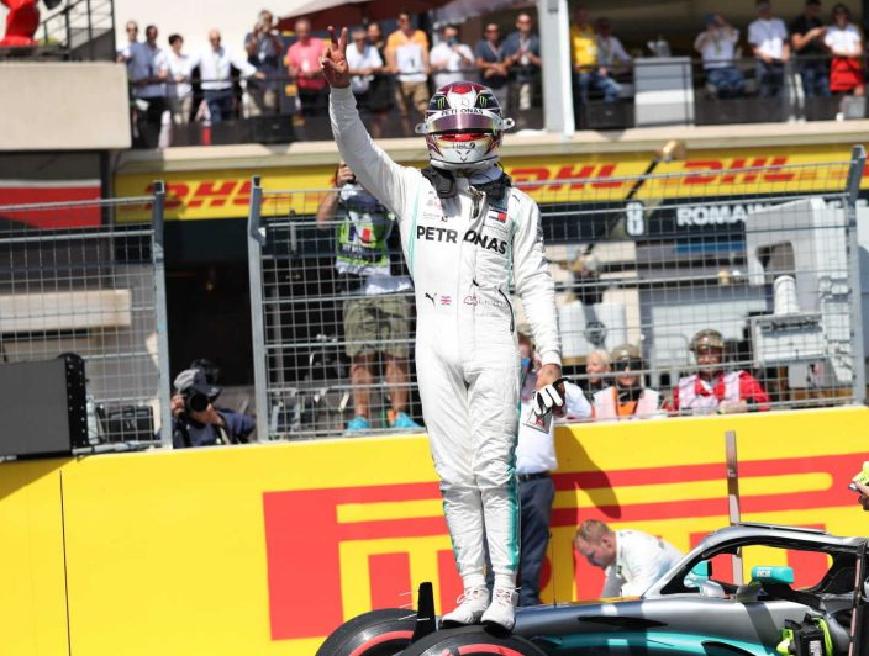 Hamilton logra la Pole. GP Francia 2019