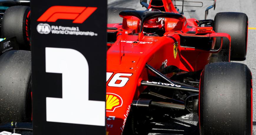 Leclerc consigue la Pole. GP Austria 2019