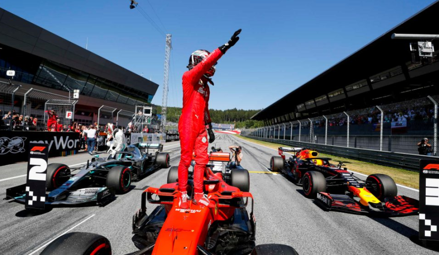 Leclerc logra la Pole. GP Austria 2019
