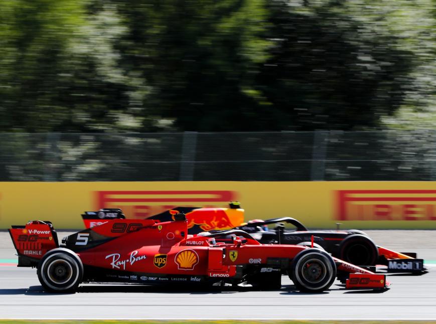 Leclerc y Verstappen. GP Austria 2019