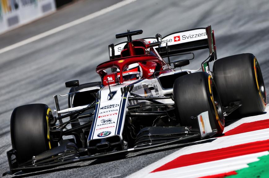 Raikkonen. Calificación GP Austria 2019