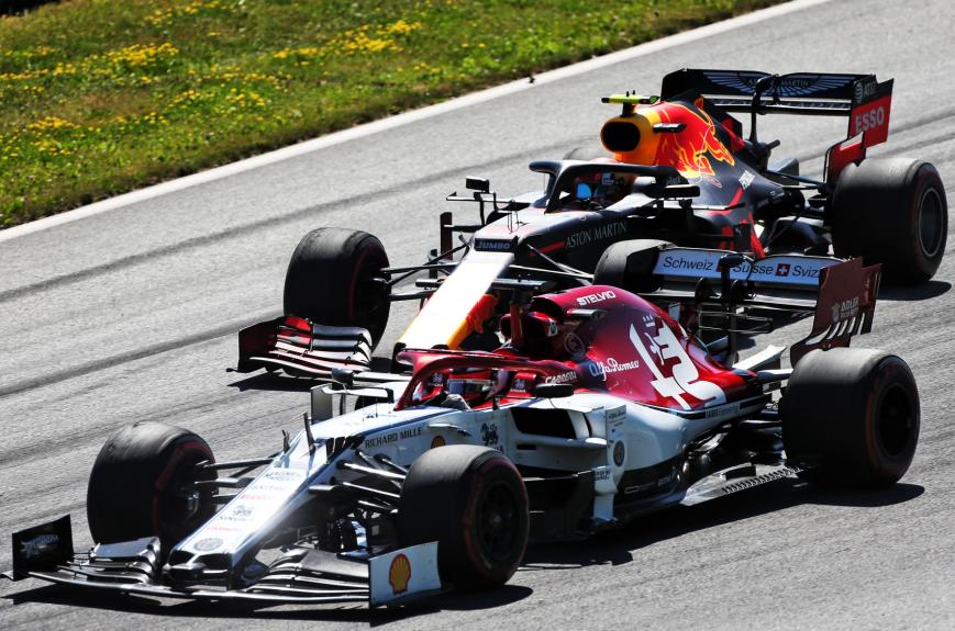 Raikkonen. GP Austria 2019