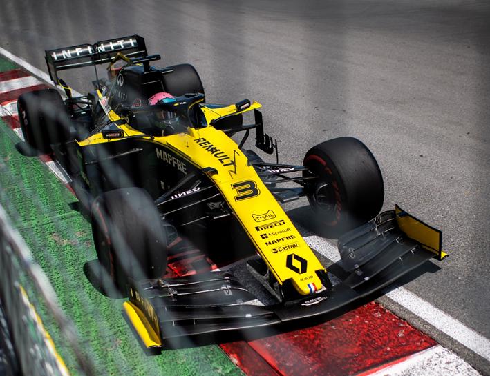 Ricciardo. Calificación GP Canadá 2019