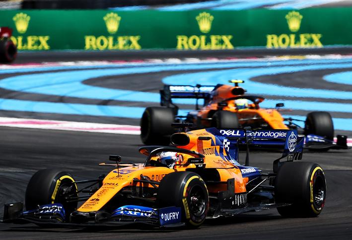 Sainz. GP Francia 2019