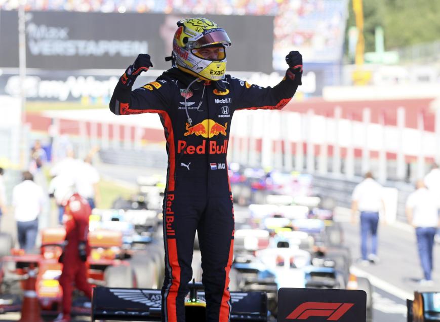 Verstappen logra la victoria. GP Austria 2019