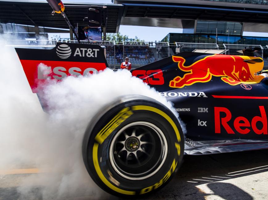 Verstappen. Calificación GP Austria 2019