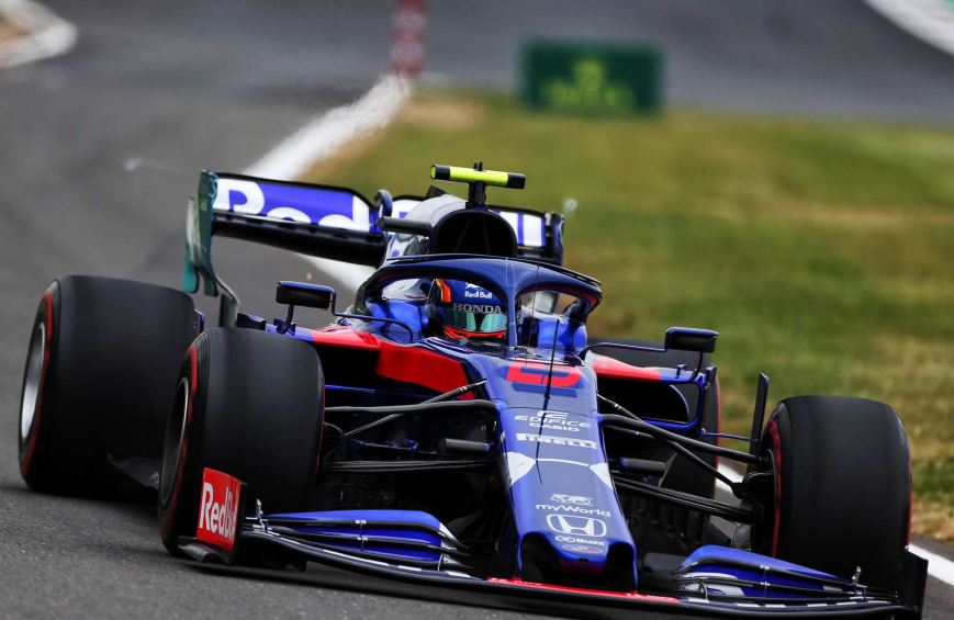 Albon. Calificación GP Gran Bretaña 2019