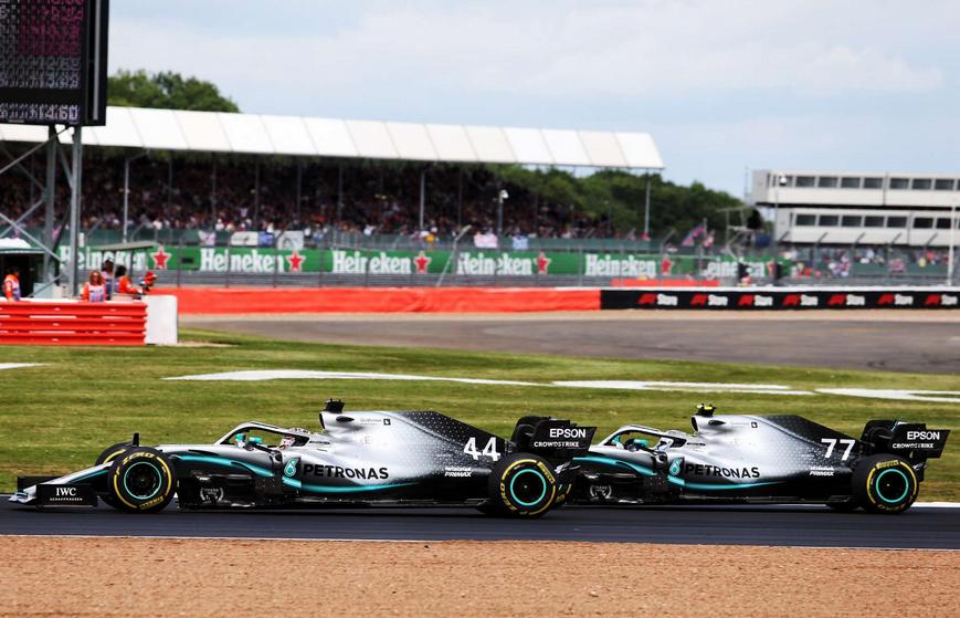 Duelo Mercedes. GP Gran Bretaña 2019