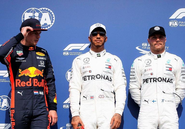 Hamilton logra la Pole. GP Alemania 2019