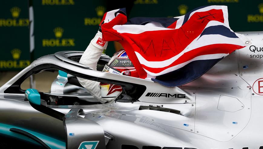 Hamilton logra la victoria. GP Gran Bretaña 2019