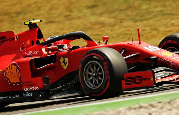 Leclerc. Libres 3 GP Alemania 2019