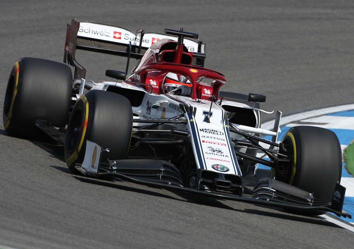 Raikkonen. Libres 3 GP Alemania 2019