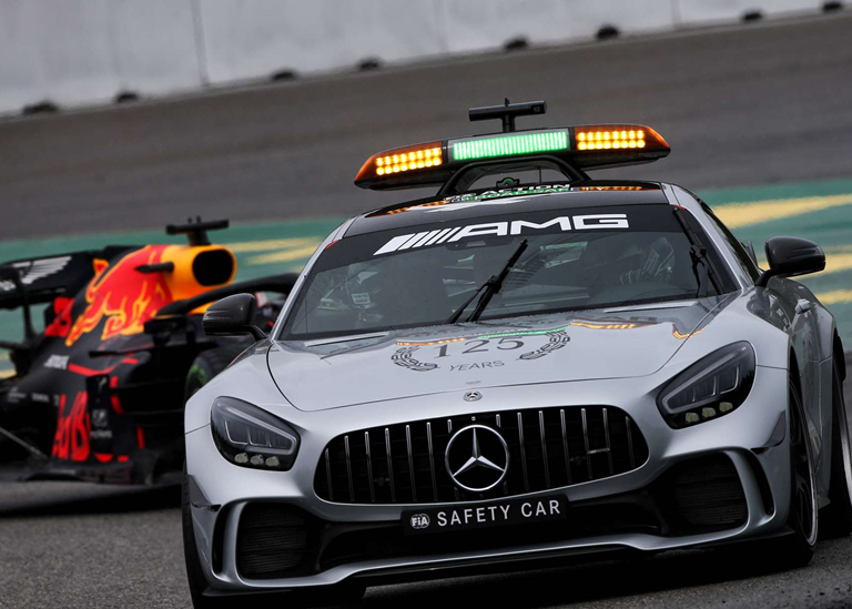 Safety Car. GP Alemania 2019