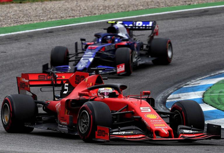 Vettel. GP Alemania 2019