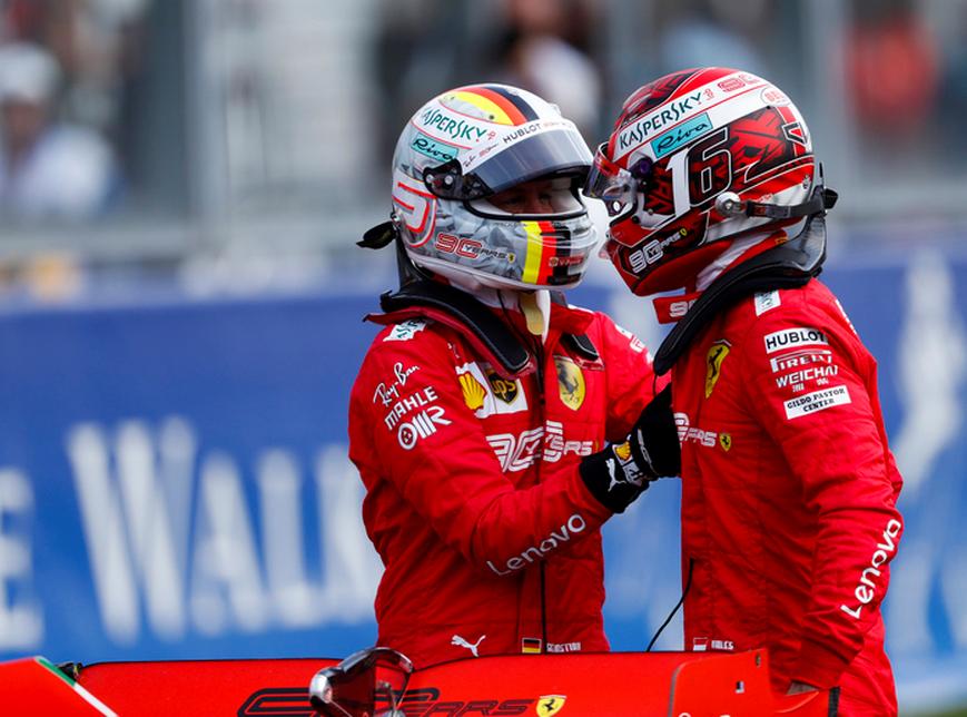 Doblete de Ferrari. Calificación GP Bélgica 2019