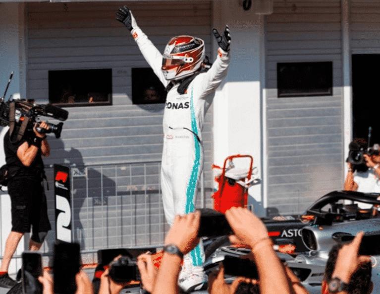 Hamilton consigue la victoria. GP Hungría 2019
