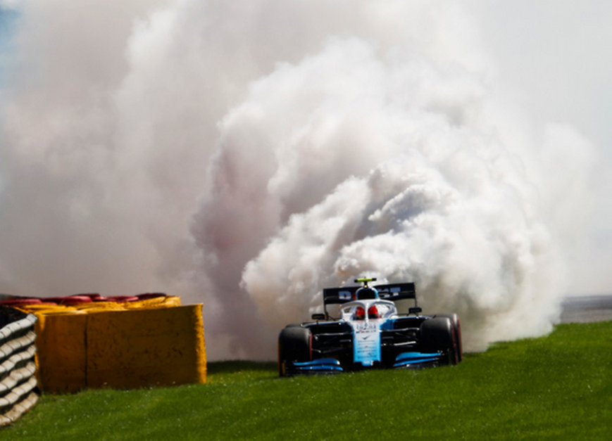Kubica. Calificación GP Bélgica 2019