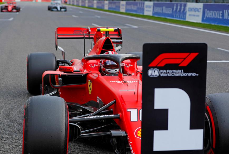 Leclerc logra la Pole. Calificación GP Bélgica 2019